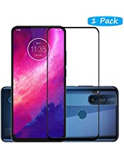 FanTing for Motorola One Hyper Screen Protector,[9H Hardness,Full Coverage,No bubbles and fingerprint],Scratch-resistant high-quality tempered glass film for Motorola One Hyper-Black(1 Pack)