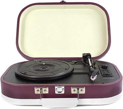 PRIXTON - Tocadiscos de Vinilos Vintage y Reproductor mp3 de ...