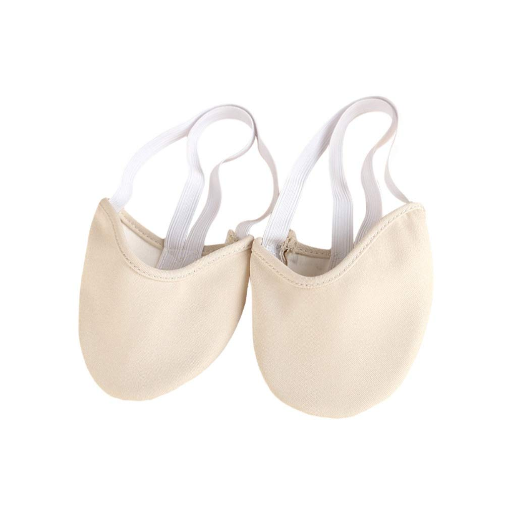 Jlong Ballet Shoes for Girls Half Shoes Toe Protector Sole Pad Dance Gymnastics Slippers
