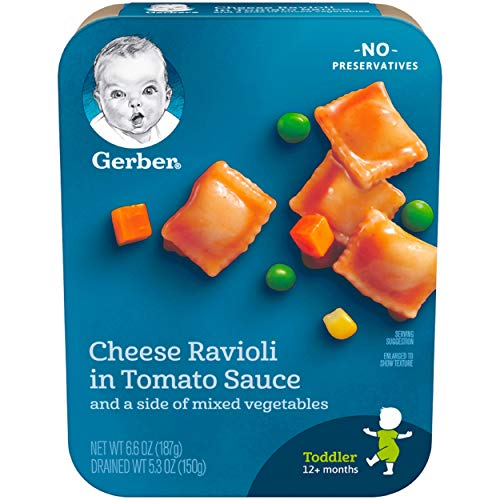 Gerber Graduates Cheese Ravioli in Tomato Sauce
