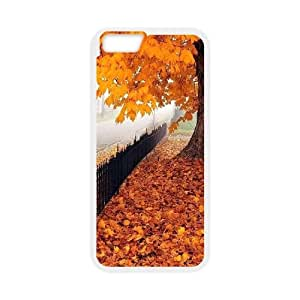 """Qxhu Maple Leaf Hard Plastic Cover Case for Iphone6 4.7"""""""
