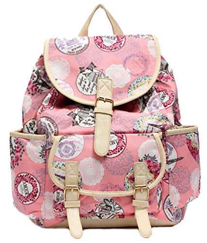 Kenox Girls Fashion Casual Backpack