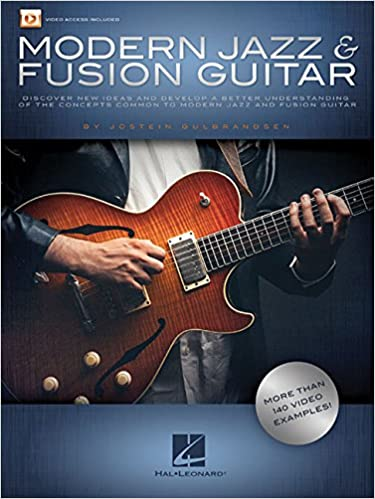 Amazon com: Modern Jazz & Fusion Guitar: More Than 140 Video