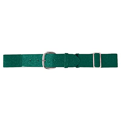 Augusta Sportswear Youth Elastic Baseball Belt, OS, Dark Green