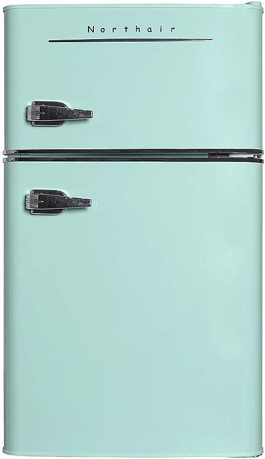 Amazon.com: Northair refrigerador pequeño de 2 puertas con ...