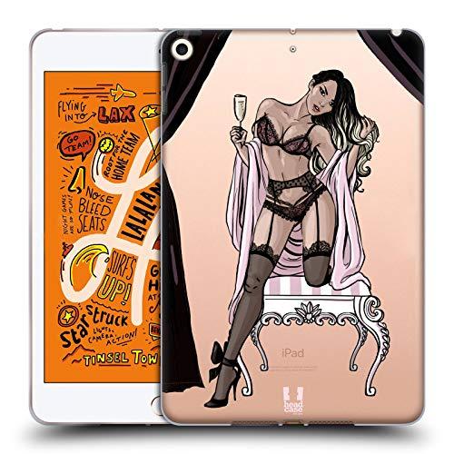 Head Case Designs Asian Boudoir Lingerie Soft Gel Case Compatible for iPad Mini (2019)