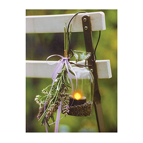 Lavender Lantern Canvas Green Polyester product image