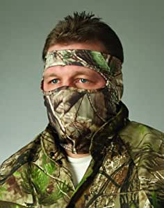 Hunters Specialties Camo Spandex 3/4 Face Mask, Realtree AP HD