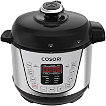 COSORI Mini 2 Qt Programmable Multi-Cooker, Pressure Cooker, Rice Cooker, Slow Cooker, Yogurt Maker, 800W ,Includes Glass Lid, Sealing Ring and Recipe Book