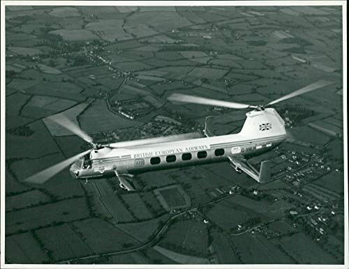 Vintage photo of Aircraft: Helicopter Bristol 173