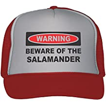 T-ShirtFrenzy Beware Of The Salamander Trucker Hat Cap