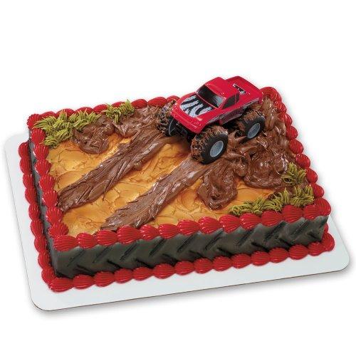 Monster Truck DecoSet Cake Decoration]()