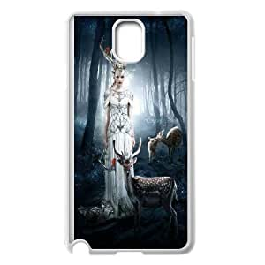 Protect deer Pattern Hard Case Cover for For Samsung Galaxy Case Note 4 FKGZ465541
