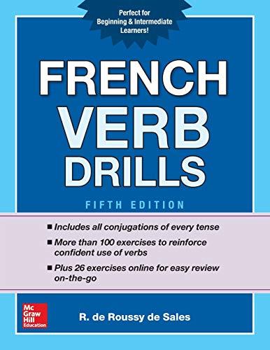 french verb drills - 1