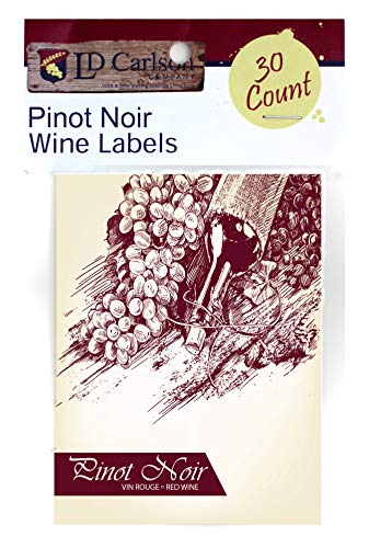 - Pinot Noir 30 Pack (Wine Labels)