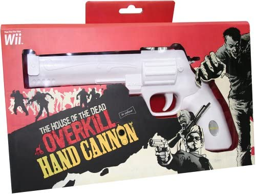 Official House Of The Dead Overkill Hand Cannon Wii Amazon Co