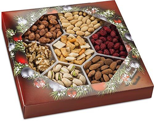 Holiday Gourmet Cristmas Gift Basket (Ultimate Present Full The Christmas)