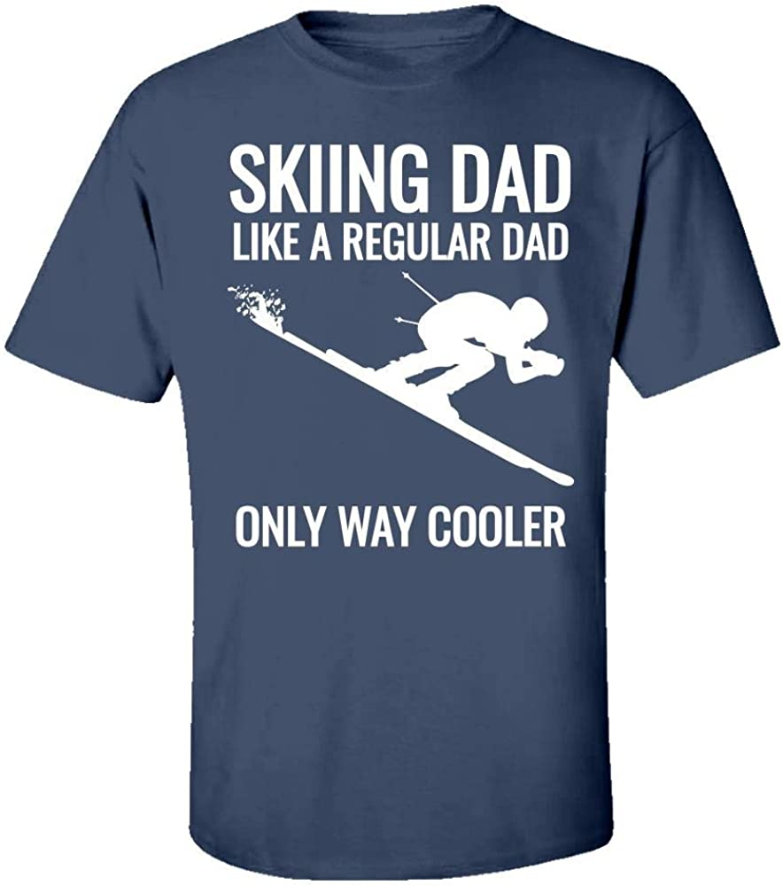 Kids T-Shirt Esprexx Ski Dad Gift for Father Who Skis; is a Skier