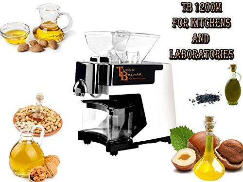 TB1200-M New Automatic Small Oil Press Machine Oil Extractor AUTO OIL FILTRATING 2016 by TurcoBazaar