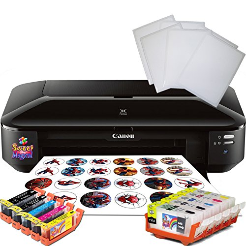 (Edible Printer Bundle for Canon Wide Format Edible Ink,Edible cleaners & Edible Paper Sheets)