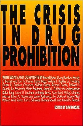 The Crisis In Drug Prohibition David Boaz  Amazon  The Crisis In Drug Prohibition David Boaz  Amazoncom Books