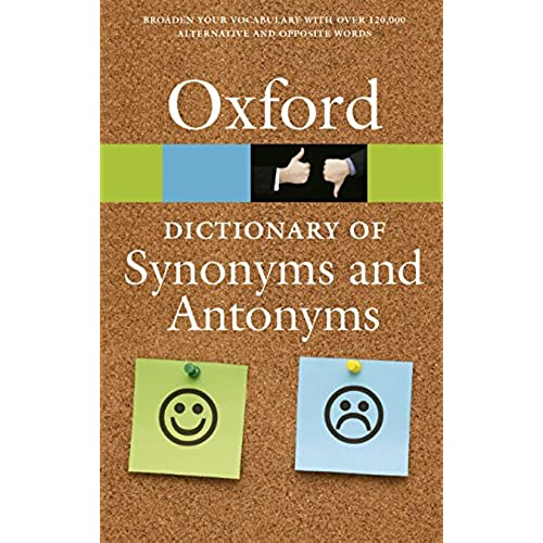Synonyms and Antonyms: Amazon.com
