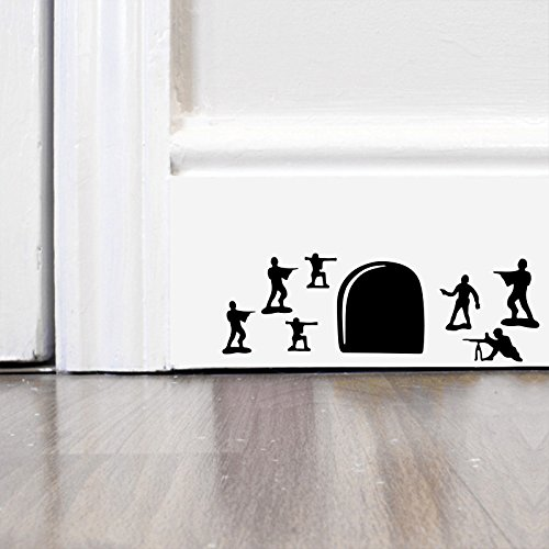 Toy Story Soilders Wall Art Autocollant Decal Mice Home Skirting Board Dr/ôle by Inspired Walls/®