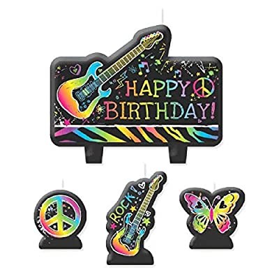 Candle Set | Neon Collection | Birthday: Toys & Games