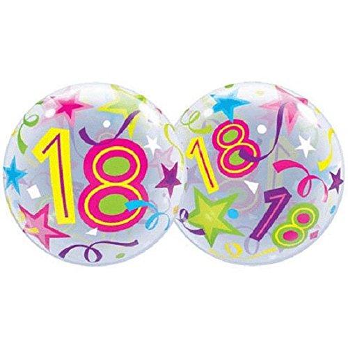 Happy 18th Birthday Bubble Balloon 22