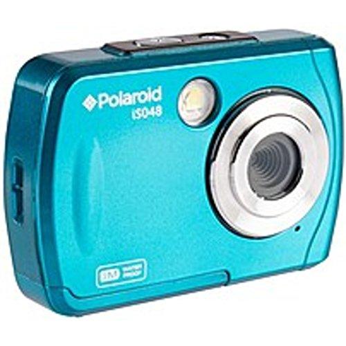 Polaroid IS048-TEAL 16.0 Megapixel Waterproof Digital Camera - 5x Optical/4x Digital Zoom - 2.4-inch LCD Display - Teal