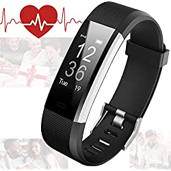 Bicol Fitness Tracker,Activity Tracker with Heart Rate Monitor, Pedometer for Walking,IP67 Waterproof Fitness Band with Step Counter for Kids Women Men, Wristband Bracelet Calorie Counter Smart Watch