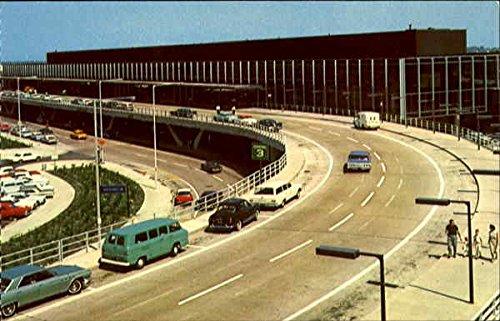 Chicago O'Hare Terminal Building Chicago, Illinois Original Vintage - Ohare Terminal