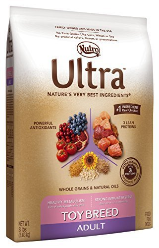 ULTRA Toy Breed Adult Dry Dog Food, 8 lbs. by Nutro Ultra Dry Dog