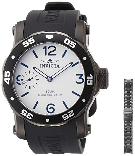 Invicta 10367 Diver Mechanical White product image