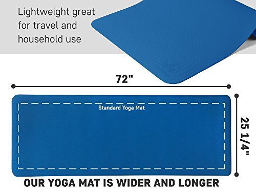 Yoga 1 Mat Towel, Blocks, Yoga Hand Towel, Free Case Perfect Yoga Gift for Exercises Yogis and