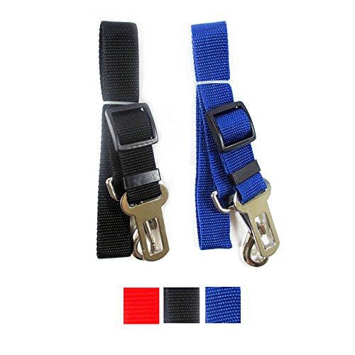 2 Pet Seat Belt Dog Safety Adjustable Clip Car Auto Travel Vehicle Safe Puppy