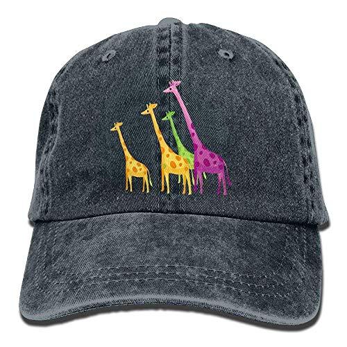 Cowgirl Denim Giraffe Skull Hat Sport Hats DEFFWB Cowboy for Women Cap Color Men Rw40Oqt
