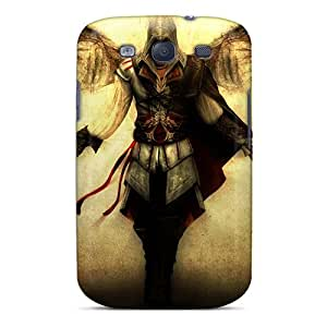 Hot ITA2824gjuc Assassins Creed Tpu Cases Covers Compatible With Galaxy S3