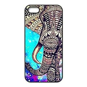Beautiful flowers elephant Cell Phone Case for iPhone 5S wangjiang maoyi