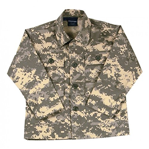 Propper Nylon / Cotton Ripstop Kids BDU Coat Universal Camo 16 F57202139416