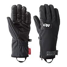 Outdoor Research Men's Storm Tracker Sensor Gloves, Black, Small