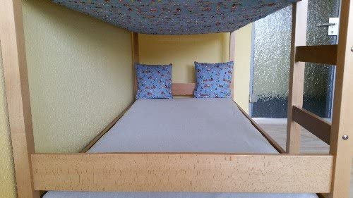 Accesorios para camas altas y literas, cubierta de somier ...