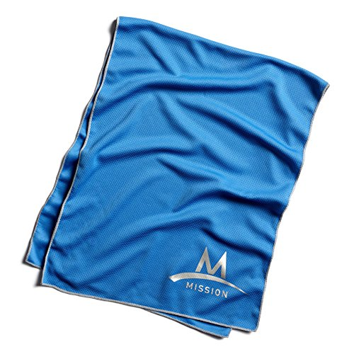 Mission Enduracool Techknit Cooling Towel  Blue  Large