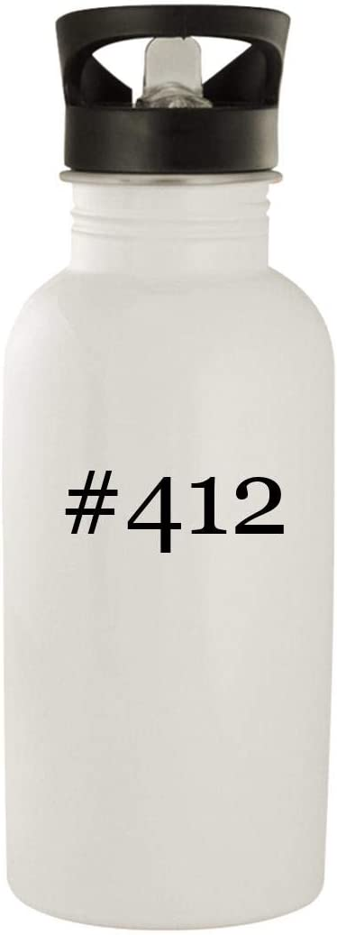 #412 - Stainless Steel Hashtag 20oz Water Bottle, White 51MgcU8o7cL