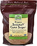 NOW Foods Organic Sucanat Cane Sugar-2 lb Bag