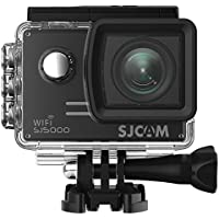 SJCAM SJ5000 WIFI Action Camera 14MP 1080p Ultra HD Waterproof Underwater Camera Large Screen Wide Angle Sports DV Camcorder for Diving Swimming Surfing Biking - Black