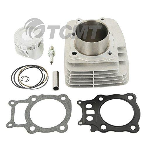 Master Cylinder Top Gasket (TCMT For Honda Rancher TRX350 Cylinder Piston Gasket Top End Rebuild Kit 2000-2006)
