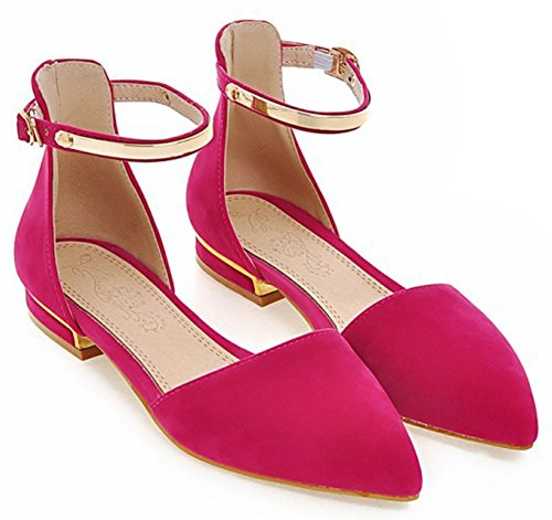 Sandals IDIFU Closed Peach Women Shoes Heels pttf4wzBq0