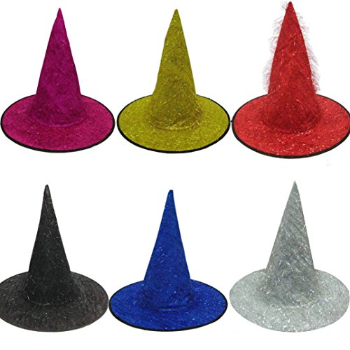 Mandy Unisex Witch Hat For Halloween Costume Accessory Devil Cap (Halloween Costume Tumblr Girl)