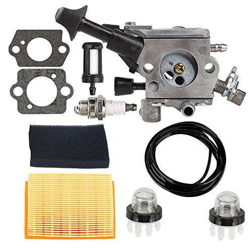 Butom C1Q-S210B Carburetor with Air Filter Tune Up Kit for STIHL BR350 BR350Z BR430 BR430Z SR430 SR450 SR431 Backpack Blower Backpack Blower 4229 129 0901 by Butom